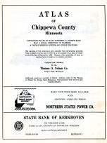 Title Page, Chippewa County 1955